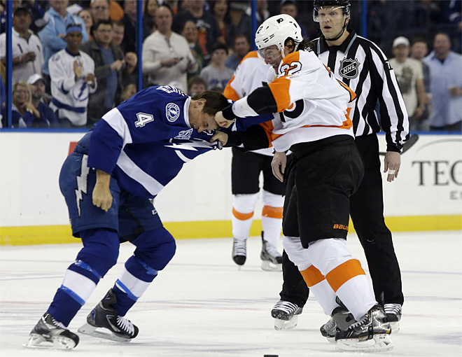 Flyers Lightning Hockey