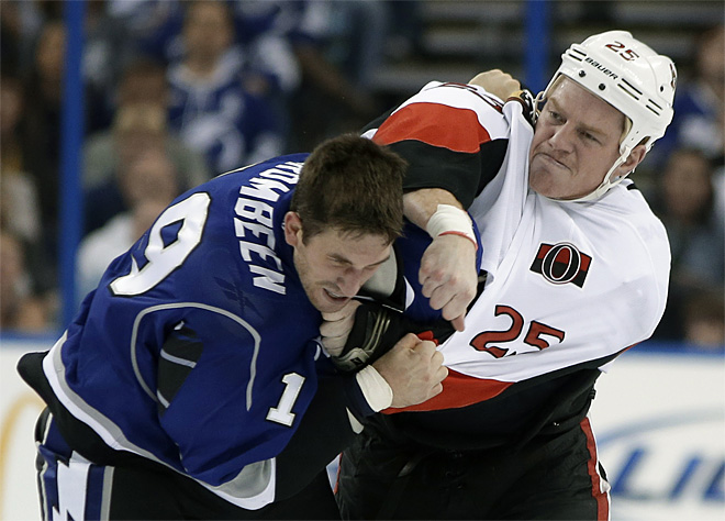 Senators Lightning Hockey