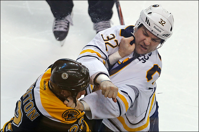 Fights have spiked in another shortened NHL season