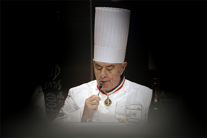 APTOPIX France Bocuse d'or Contest
