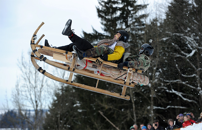 Germany Sled Race