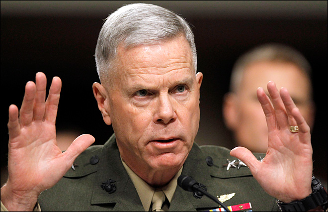 General: Marine Corps infantry skeptical of women in combat