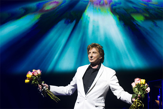 Manilow On Broadway Opening Night