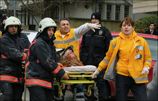 Suicide bombing at U.S. Embassy in Turkey kills 2