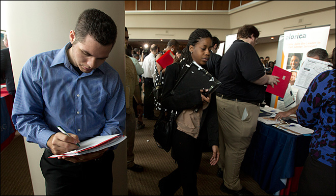 U.S. gains 157,000 jobs; jobless rate rises to 7.9 pct.