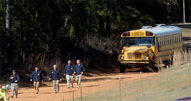 School Bus Driver Shot