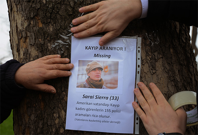 Turkey US Missing Woman