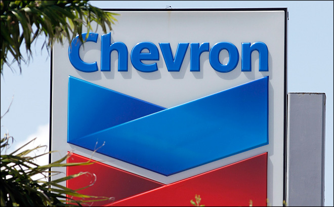 Chevron profit up on asset exchange, refineries