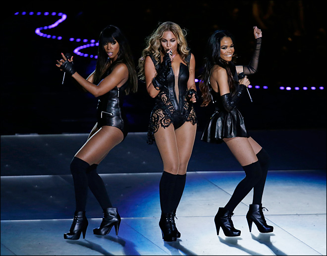 Watch: Beyonce rocks Super Bowl halftime show