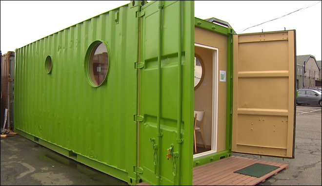 NW firm turns old cargo containers into living spaces