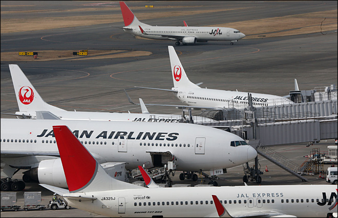 Japan Airlines 1-3Q profit down 3.7 pct