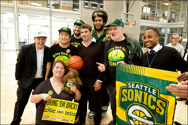 Report: NBA, Chris Hansen in 'productive' talks for Seattle expansion team