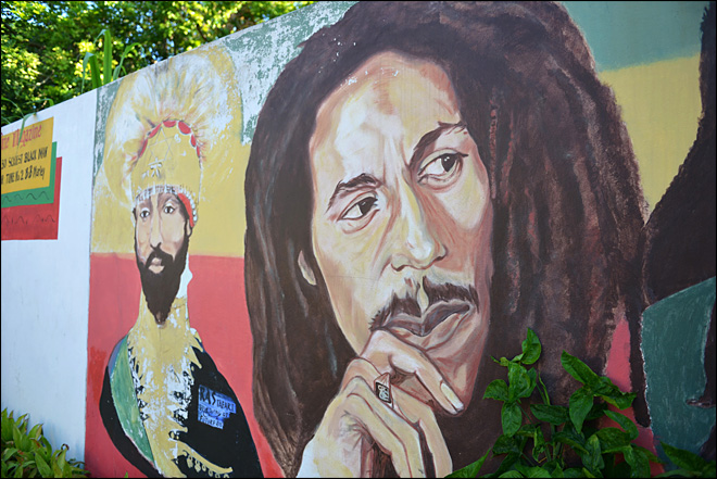 Fervent fans mark Marley's birthday in Jamaica