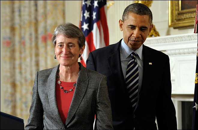 Sally Jewell, CEO of REI, to lead Interior Department