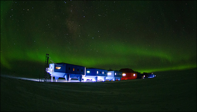 UK's space age Antarctic base can slide across ice