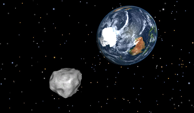 Asteroid set to buzz Earth next week