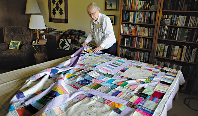 Corvallis seniors blanket Sandy survivors