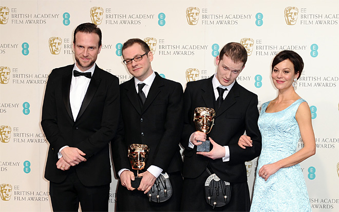 BAFTA Film Awards 2013 Winners Room