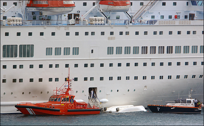 5 killed in cruise ship lifeboat drill in Canary Islands