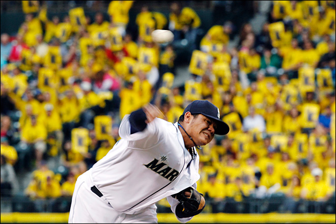 M's announce Felix Hernandez' $175 million contract