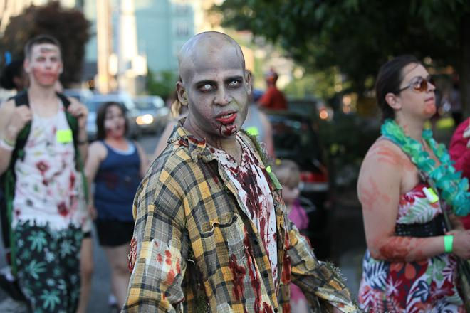 2012 Red, White and Dead Zombie Walk