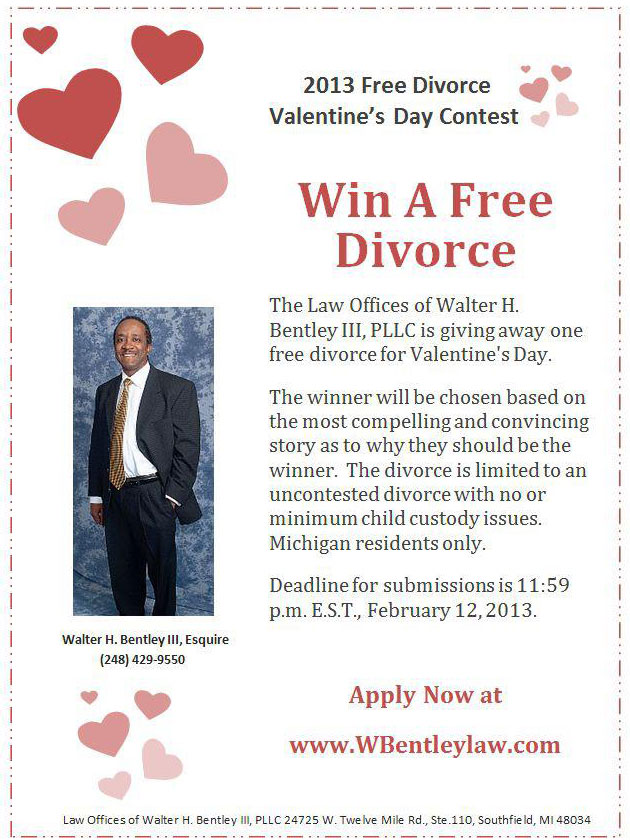 Free divorce for most heart-warming breakup story