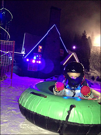 Cosmic tubing a hit at Mt. Hood Skibowl