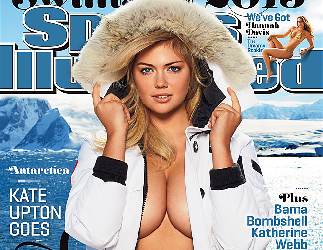 Kate Upton repeats as Sports Illustrated Swimsuit cover model