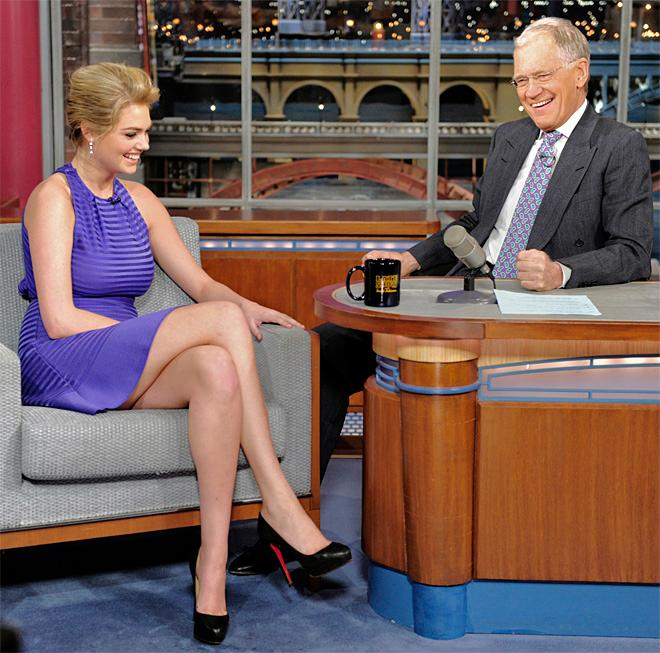 Late Show Kate Upton