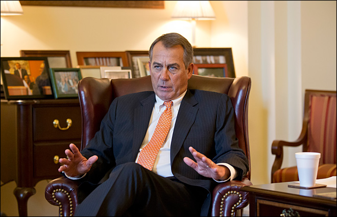 Boehner taking a you-first approach to working with Democrats