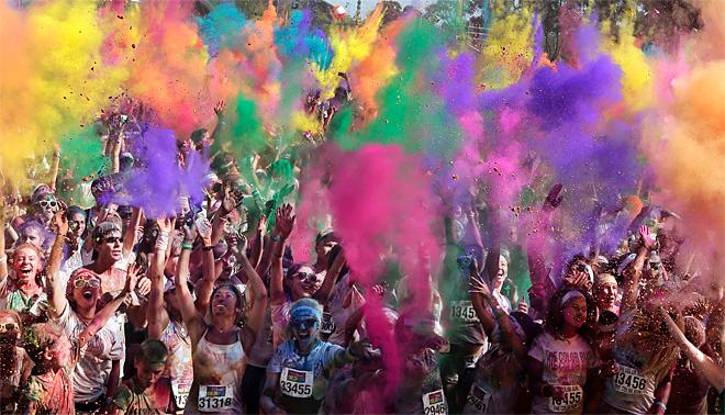 APTOPIX Australia Color Run
