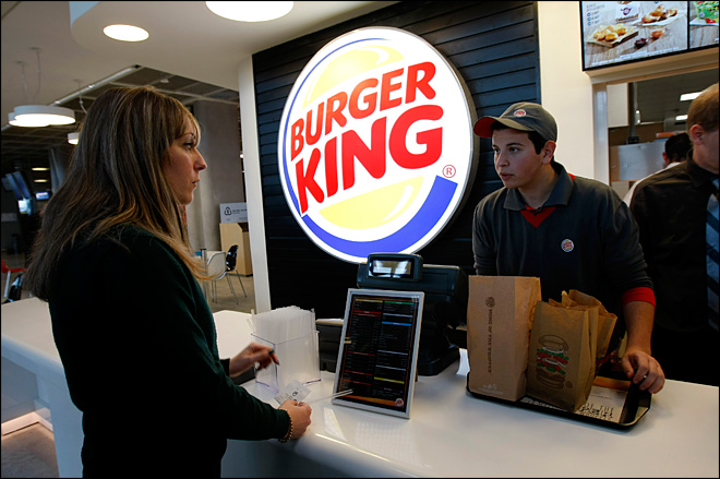 Burger King 4th quarter results top analysts' estimates