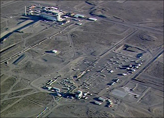 Tank leaking high-level radioactive waste at Hanford