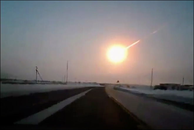 What are the chances of a meteor strike over Oregon?