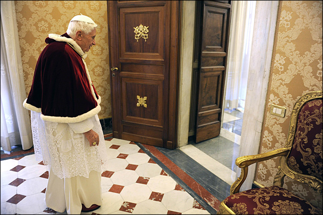 Secrets spill after pope's retirement bombshell