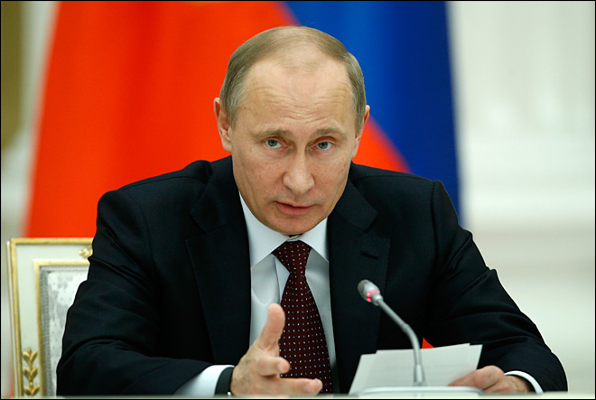 Putin says American exceptionalism is 'dangerous'