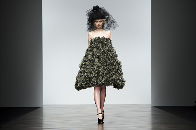 Britian London Fashion Week John Rocha