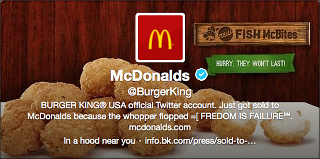 Burger King plans apology after Twitter hack