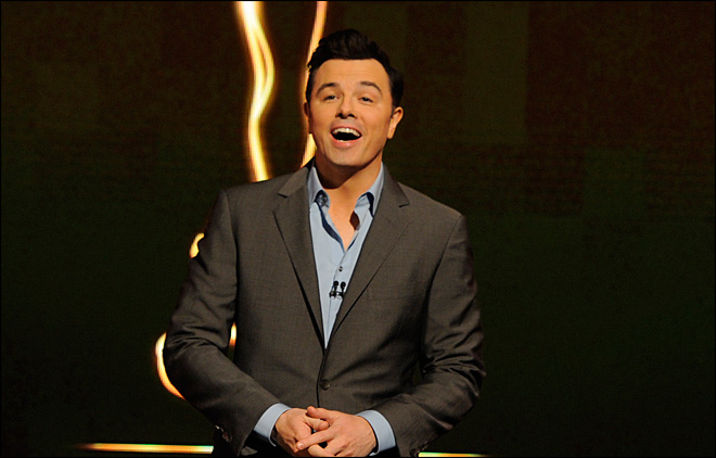 Seth MacFarlane: Hosting Oscars 'a one-time thing'