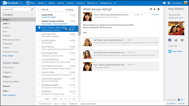 Microsoft betting big on new Outlook.com