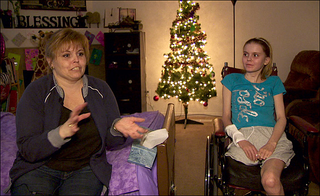 Mystery illness that took her legs doesn't quell teen's faith