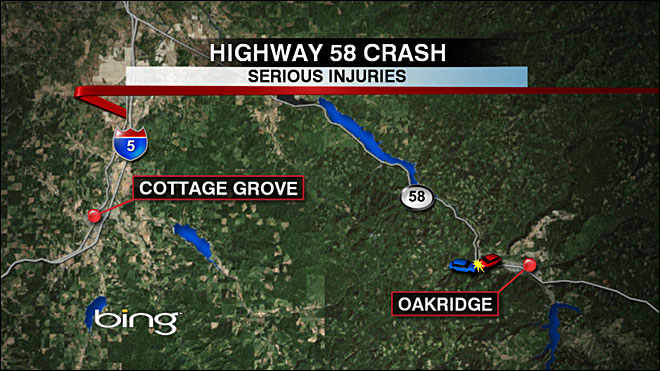 Trucker seriously injured in crash