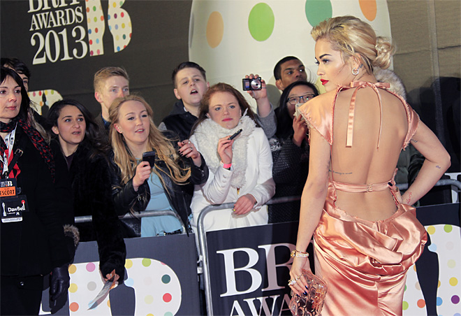 Britain BRIT Awards 2013 Arrivals