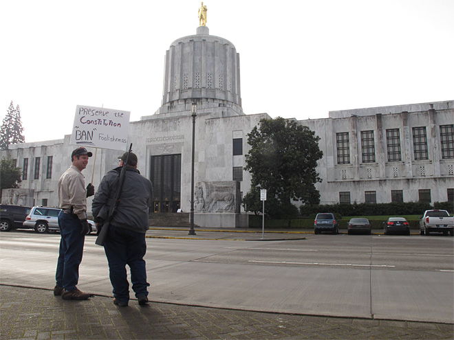 Oregon lawmakers plan hearing on gun bills next week