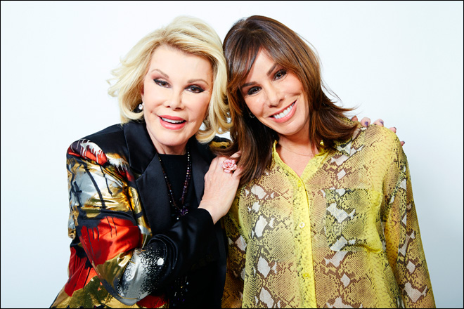 For Joan and Melissa Rivers, Oscars equals fashion