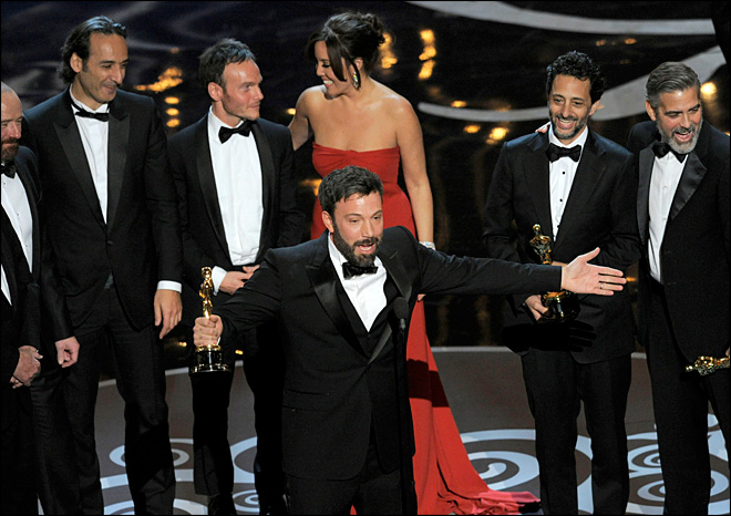 Ben Affleck's 'Argo' wins best-picture Oscar