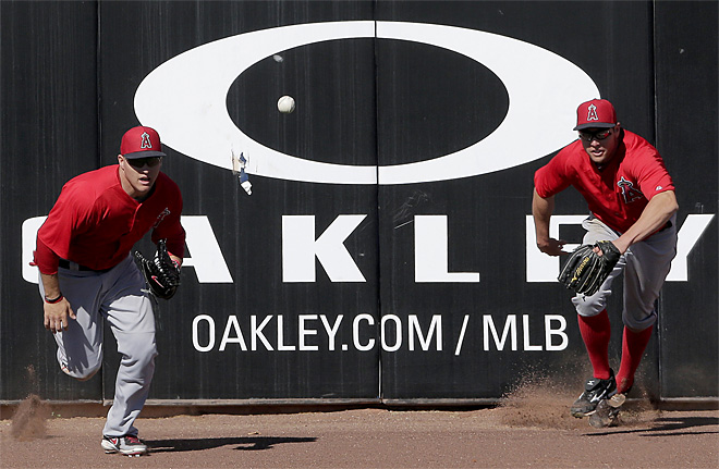 Angels Mariners Spring Baseball
