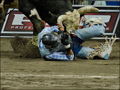 Pro Bull Riders saddle up at Matt Knight Arena