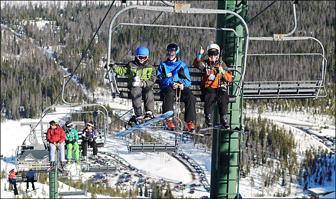 Helmets catch on for skiers, snowboarders