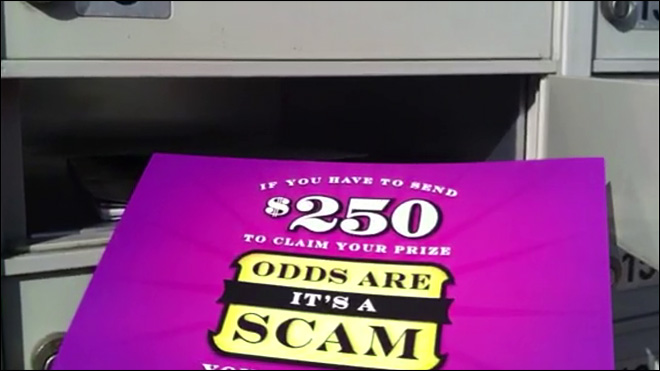 New campaign fights back against lottery and sweepstakes scams